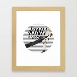 King of Swing - Cesaro Framed Art Print