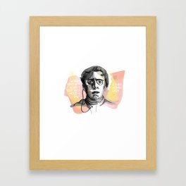 emma goldman Framed Art Print
