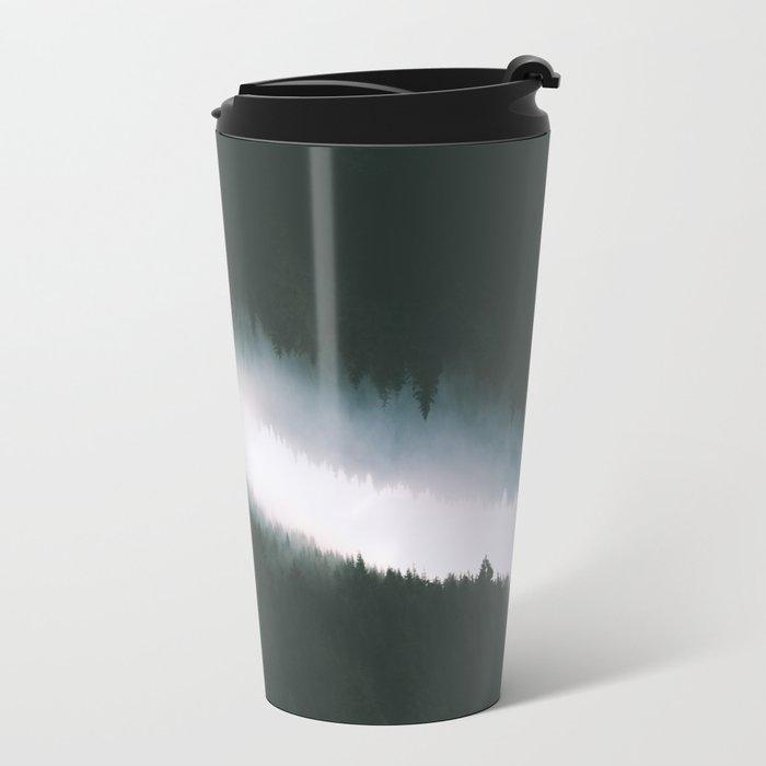 Forest Reflections V Metal Travel Mug