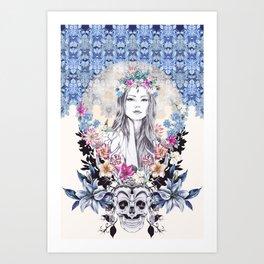 Topeng Art Print
