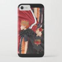 haikyuu iPhone & iPod Cases featuring HAIKYUU!! - KINGS by zero0810