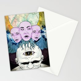 Behind the Shadow Stationery Cards