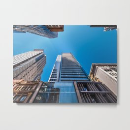 Looking up at MidCity Centre in Sydney Metal Print