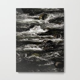 River Rapids Metal Print