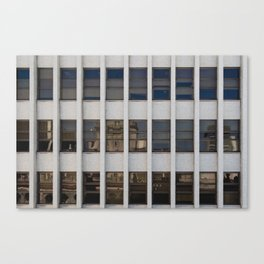 Concrete and Glass Canvas Print
