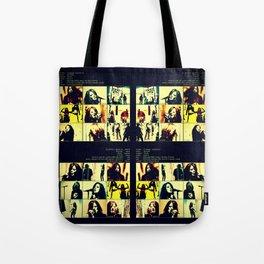 Stupid Girl Happy When It Rains Tote Bag