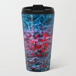 Water Color - Red Travel Mug