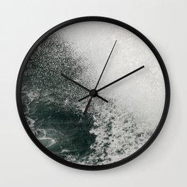 Maine Ferry Wake Wall Clock