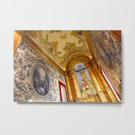 Portuguese church Metal Print