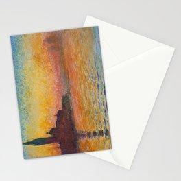 Claude Monet San Giorgio Maggiore at Dusk (Venice) Stationery Cards