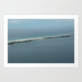 Above the Island Art Print