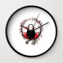 Evil Without Face Wall Clock