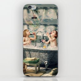 "H. Ch. Andersen tale motive  ""The Ugly Duckling"" iPhone Skin"