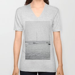 Coastal Maine Mornings Unisex V-Neck