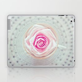 A Cup Of Rose Laptop & iPad Skin