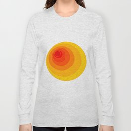 I'm eccentric type ( Psychedelic theme ) Long Sleeve T-shirt