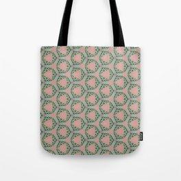 Grecian Greenery Tote Bag