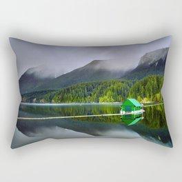 Vancouver Capilano Mountains Rectangular Pillow