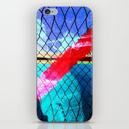 Pinched Jazz Blues iPhone Skin