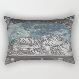 Planet Earth Rectangular Pillow