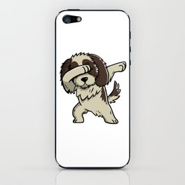 Dabbing Shih Tzu Dog Dab Dance iPhone Skin