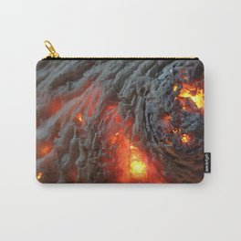 Flaming Seashell 1 Carry-All Pouch