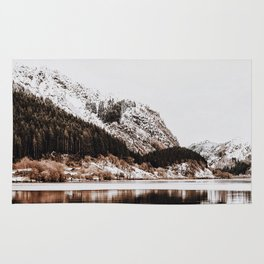 LAKE - OCEAN - BAY - SNOW - MOUNTAINS - HILLS - PHOTOGRAPHY Rug