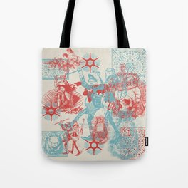 Time We Left This World Today Tote Bag