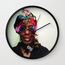 KEVIN CURTIS BARR ... Prince Poster 2 Wall Clock