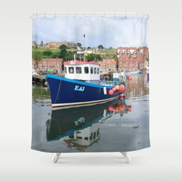 Fishing boat K2 E63 Shower Curtain