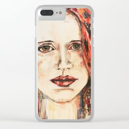 A Lover of the Light Clear iPhone Case