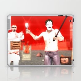 SquaRed: Face Off Laptop & iPad Skin