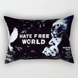 Blurry as the concept Rectangular Pillow