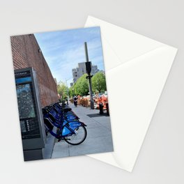 Citi Bike Photograph in Park slope Brooklyn Stationery Cards
