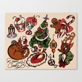 Holidaze Canvas Print