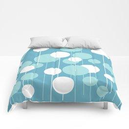 Float - Blue & White Comforters