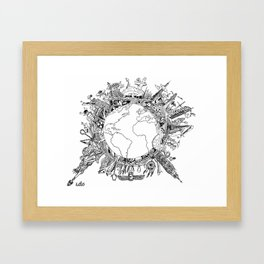 Mad World  Framed Art Print