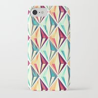 diamonds iPhone & iPod Cases featuring Diamonds by VessDSign