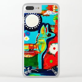 Mexican Love Clear iPhone Case