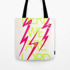 Lightning Speaks Tote Bag