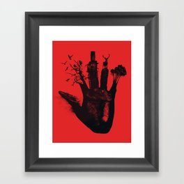 1 4d money 4 for life Framed Art Print
