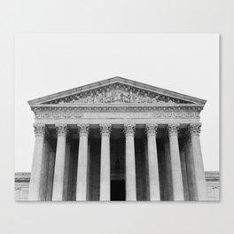 United States Supreme Court Building Canvas Print