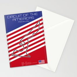 Circuit of the Americas, Austin Texas Stationery Cards