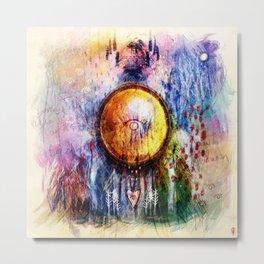 Sunscín - Mirrors Metal Print