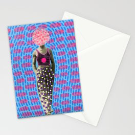 Walking Dot Stationery Cards