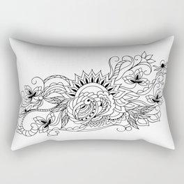 zen sunrise Rectangular Pillow