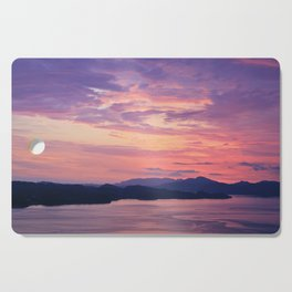 Pastel sunset Cutting Board