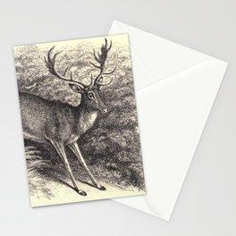 Antique Deer Stationery Cards