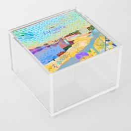 FAUVISTa Sailboats Acrylic Box