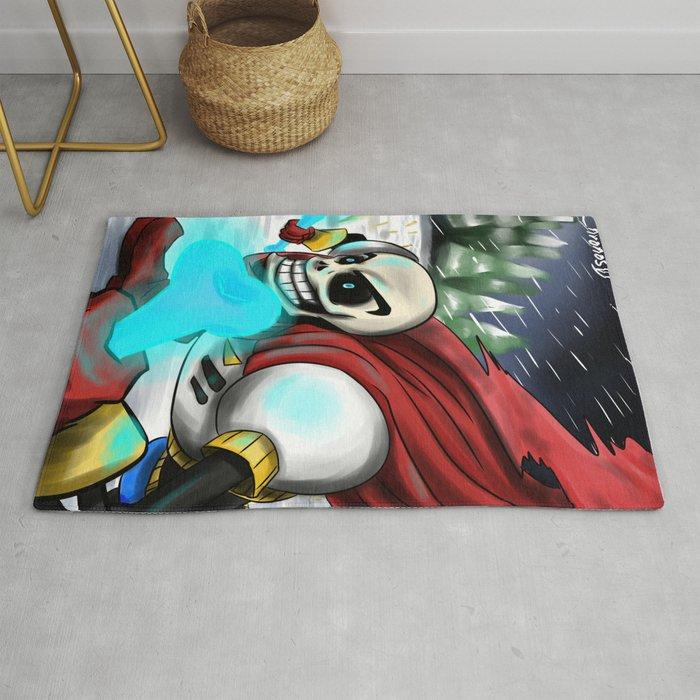 Papyrus| Undertale Rug by chronosd